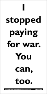 I stopped paying for war. You can, too.